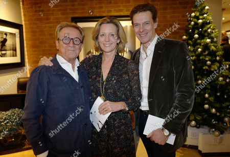 Stock Photo of John Swannell, Julia Ogilvy and James Ogilvy