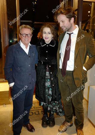John Swannell, Helena Bonham Carter and Rye Dag Holmboe