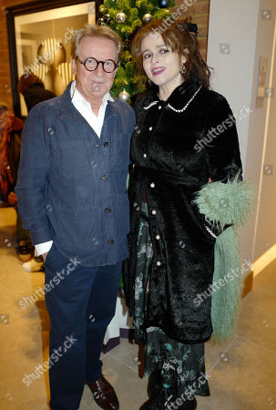 John Swannell and Helena Bonham Carter