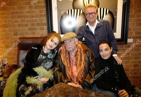 Helena Bonham Carter, David Bailey, John Swannell and Catherine Bailey