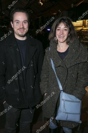 Stock Picture of Henry Davas and Amy Rosenthal