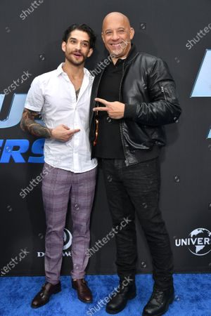 Stock Image of Tyler Posey and Vin Diesel
