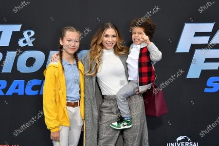 Weslie Fowler, Allison Holker and Maddox Laurel Boss
