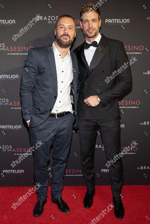 Matias Moltrasio and William Levy Pose at the Pantelion's En Brazos De Un Asesino Miami Premiere