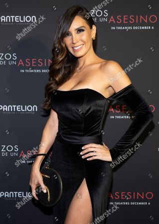 Stock Photo of Elizabeth Gutierrez posing at the Pantelion's En Brazos De Un Asesino Miami Premiere