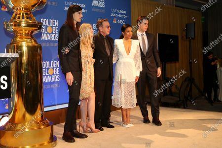Dylan Brosnan, Dakota Fanning, Tim Allen, Susan Kelechi Watson and Paris Brosnan