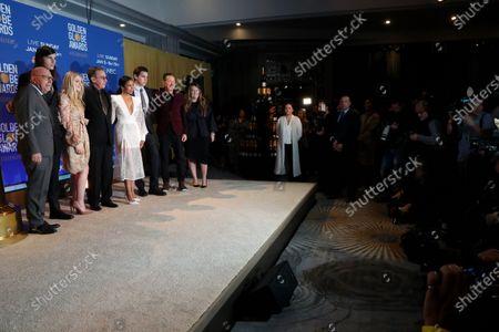 Lorene Soria, Dylan Brosnan, Dakota Fanning, Tim Allen, Susan Kelechi Watson, Paris Brosnan, Barry Adelman and Amy Thurlow
