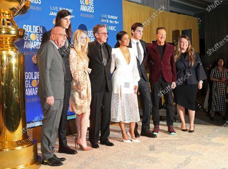 Lorenzo Soria, Dylan Brosnan, Dakota Fanning, Tim Allen, Susan Kelechi Watson, Paris Brosnan, Barry Adelman and Amy Thurlow