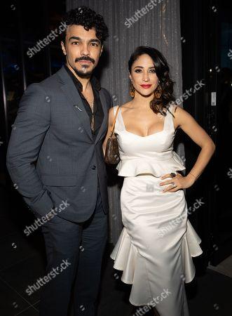 Shalim Ortiz and Thanya Lopez