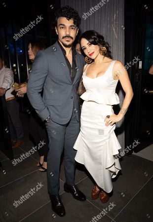 Stock Photo of Thanya Lopez and Shalim Ortiz