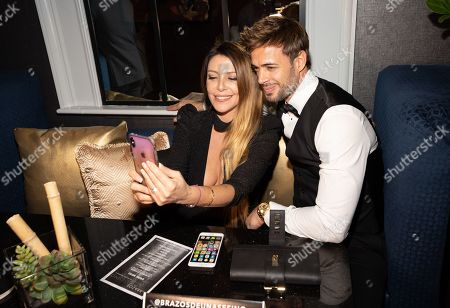 Monica Ayos and William Levy at the Pantelion's En Brazos De Un Asesino Miami Premiere