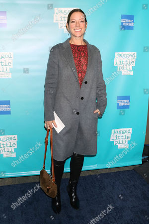 "Sarah McLachlan attends the ""Jagged Little Pill"" Broadway opening night at the Broadhurst Theatre, in New York"