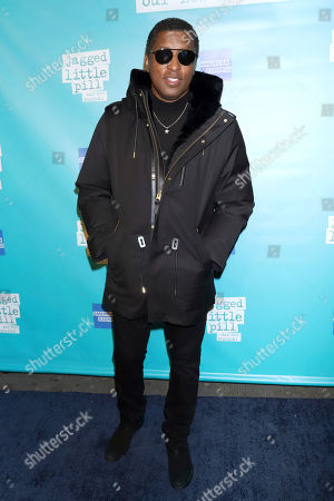 """Stock Picture of Kenneth Babyface Edmonds attends the """"Jagged Little Pill"""" Broadway opening night at the Broadhurst Theatre, in New York"""