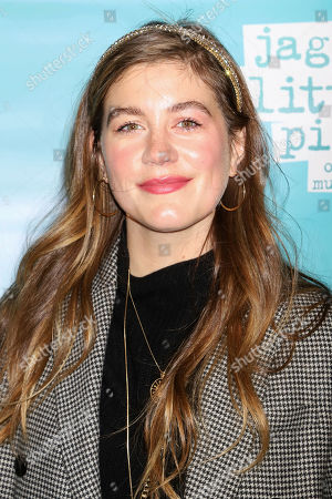 """Laura Dreyfuss attends the """"Jagged Little Pill"""" Broadway opening night at the Broadhurst Theatre, in New York"""