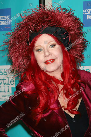 "Kate Pierson attends the ""Jagged Little Pill"" Broadway opening night at the Broadhurst Theatre, in New York"