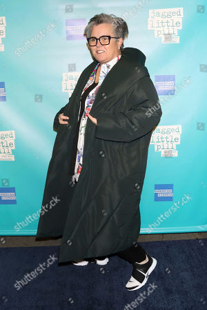 "Rosie O'Donnell attends the ""Jagged Little Pill"" Broadway opening night at the Broadhurst Theatre, in New York"