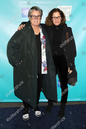 "Rosie O'Donnell, Ally Sheedy. Rosie O'Donnell, left, and Ally Sheedy attend the ""Jagged Little Pill"" Broadway opening night at the Broadhurst Theatre, in New York"