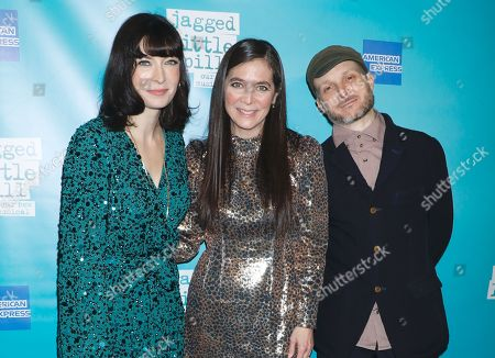 Editorial image of 'Jagged Little Pill' musical premiere, Arrivals, American Repertory Theater, New York, USA - 05 Dec 2019