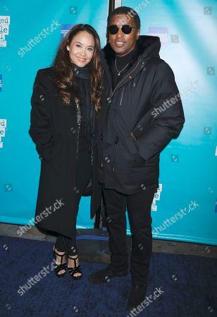 Kenneth Babyface Edmonds and Nicole Pantenburg