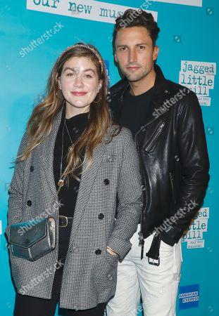 Laura Dreyfuss and Tyler Lain