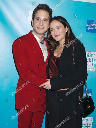 Ben Platt and Francesca Carpanini