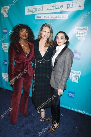Celia Rose Gooding, Kathryn Gallagher and Lauren Patten