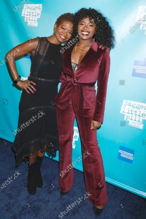 Stock Picture of LaChanze and Celia Rose Gooding