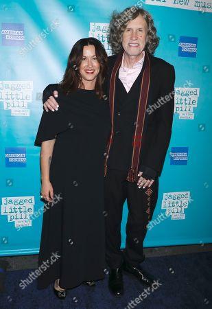 Alanis Morissette and Glen Ballard