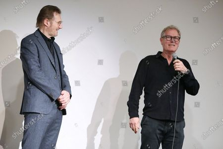 Liam Neeson and Hans Petter Moland (Director)