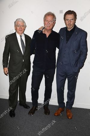 Edward Gallagher (Pres. and CEO; American Scandinavian Society), Hans Petter Moland (Director) and Liam Neeson
