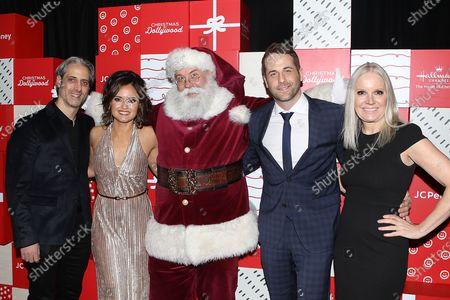 Josh Saviano, Danica McKellar, Santa Claus, Niall Matter, Michelle Vicary