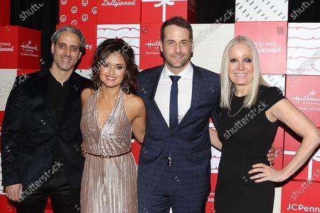 Josh Saviano, Danica McKellar, Niall Matter and Michelle Williams