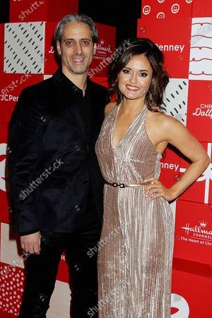 Josh Saviano and Danica McKellar