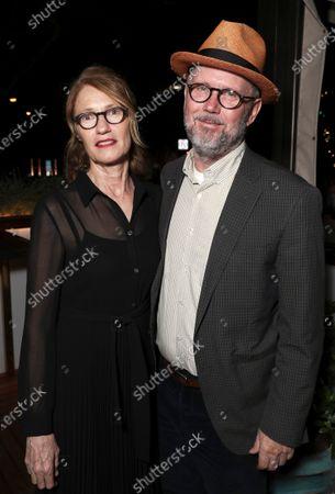 Stock Photo of Valerie Faris and Jonathan Dayton