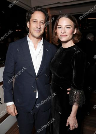 Stock Image of David Greenbaum and Valerie Pachner