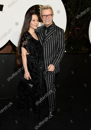 China Chow and Billy Idol