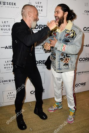 Vivi Nevo and Jared Leto
