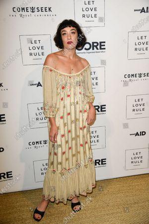 Editorial image of Core x Let Love Rule, Art Basel, Miami, USA - 05 Dec 2019