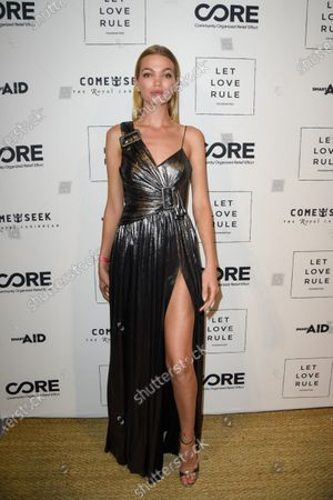 Editorial photo of Core x Let Love Rule, Art Basel, Miami, USA - 05 Dec 2019