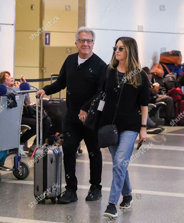 Editorial image of Dustin Hoffman and Lisa Gottsegen at LAX International Airport, Los Angeles, USA - 05 Dec 2019
