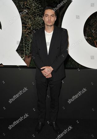 Levi Dylan arrives at GQ's Men of the Year Celebration, in West Hollywood, Calif