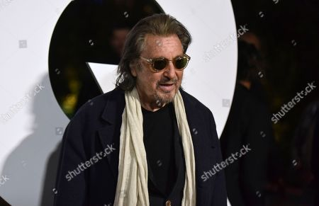 Al Pacino arrives at GQ's Men of the Year Celebration, in West Hollywood, Calif