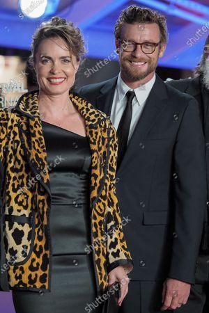 Radha Mitchell and Simon Baker
