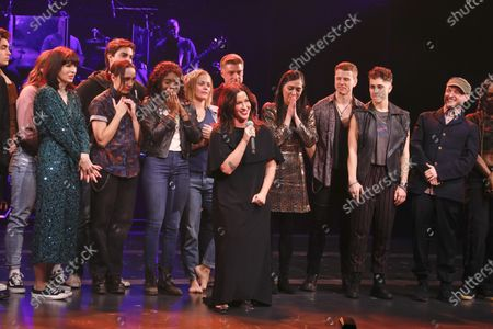 Editorial photo of 'Jagged Little Pill' musical premiere, Curtain Call, American Repertory Theater, New York, USA - 05 Dec 2019