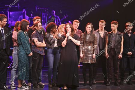 Editorial picture of 'Jagged Little Pill' musical premiere, Curtain Call, American Repertory Theater, New York, USA - 05 Dec 2019