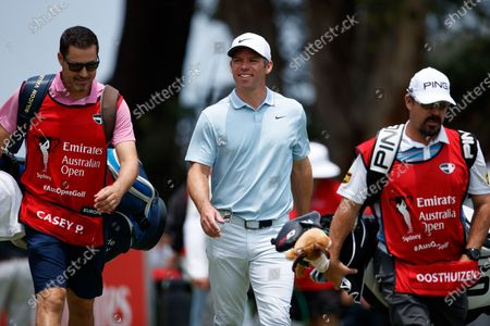 Stock Image of Paul Casey (ENG) smiles