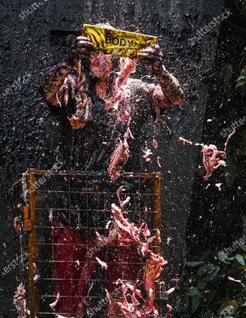Bushtucker Trial, Pump of Peril - Andrew Whyment
