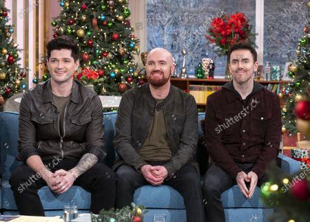 The Script - Danny O'Donoghue, Mark Sheehan, Glen Power