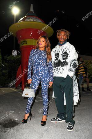 KAI Millard Morris (Stevie Wonder former wife) and Kailand Morris (son)