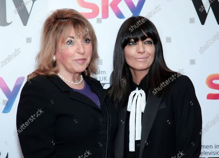 Eve Pollard and Claudia Winkleman